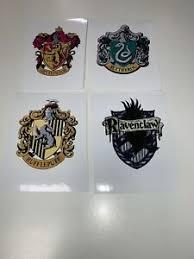 Harry Potter House Crests Vinyl Decal Sticker Gryffindor Hufflepuff Ravenclaw