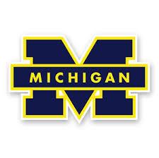Michigan Wolverines Sticker Die Sut College Decal Logo Vinyl Car Laptop Case Ebay
