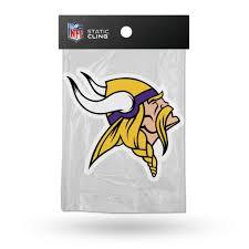 Football Nfl Minnesota Vikings Static Cling Nfl Window Decal Car Sticker Made Usa Lic Rico Football Nfl Fan Apparel Souvenirs