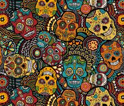 sugar skulls wallpaper 470x403