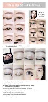 korean natural makeup step by step