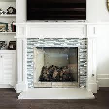 gray fireplace tiles design ideas
