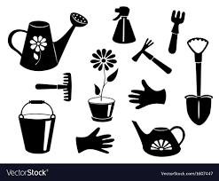 garden tools royalty free vector image