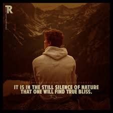 it is in the still silence of nature quotes album on ur