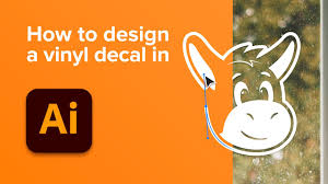 How To Design A Vinyl Decal Youtube