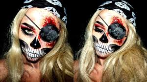 how to do zombie pirate makeup