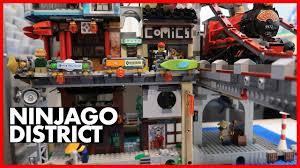 LEGO City Ninjago District Update #1 - YouTube