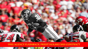 NFL Free Agency Flashback: Priest Holmes' 2001 Kansas City Chiefs Contract  – Front Office Football