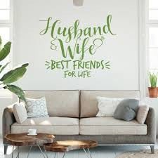 Wall Sticker Husband And Wife Sticky