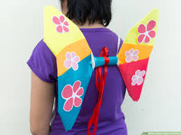 3 ways to make paper fairy wings wikihow