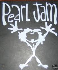 Pearl Jam Vinyl Decal Sticker Rare New 20629425