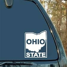 Amazon Com Gaoeer Car Sticker Car Decal Ohio State University Logo Decal Sticker Bumper Fun Personality Decorative Accessories Packaging Home Kitchen