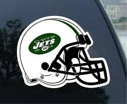 New York Jets Vinyl Decal Car Window Mirror Bumper Laptop Etsy
