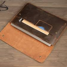 personalized leather macbook pro 13