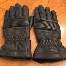 mens winter leather motorcycle gloves