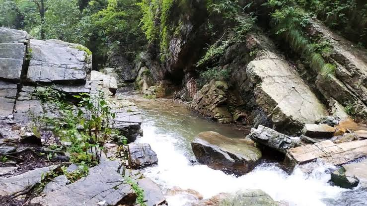Image result for Bhalugarh falls