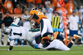 Cam Newton: Broncos' Darian Stewart and Brandon Marshall fined for ...