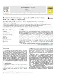 Refinement of atomic models in high resolution EM reconstructions using  Flex-EM and local assessment – topic of research paper in Biological  sciences. Download scholarly article PDF and read for free on CyberLeninka