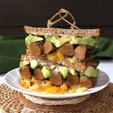 vegan sausage sandwich slow cooker