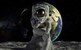 wallpaper astronaut earth hd e