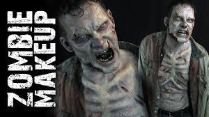 walking dead zombie makeup tutorial