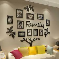Family Tree Picture Frame Collage3d Stickers With Photo Wall Mural Living Room 619960599068 Ebay