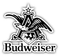 Budweiser Beer Logo Eagle Car Bumper Sticker Decal 3 5 Or 6 Ebay