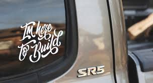 Custom Vinyl Car Decals Sticker Mule