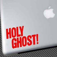 Holy Ghost Vinyl Sticker Car Decal Shirt Dfa Records Band Lcd Soundsystem Work Ebay