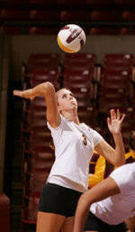 Sun Devils Sweep Cougars Behind Career Night From Staci Smith ...