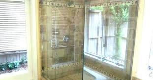 hard water stains from shower doors