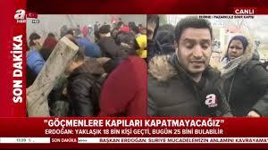 Son dakika: Yunanistan sınırında büyük göçmen yığılması! 18 bin ...