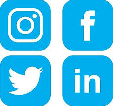Social Media Logo Decal Vinyl Stickers Window Walls Vehicle Display Twitter Fb Ebay