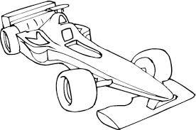 Formule 1 Auto Kleurplaat Gratis Kleurplaten Printen