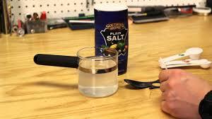 diy saline solution you