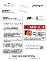 chaska 335s manual kozy heat