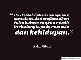 quotes kahlil gibran yang sangat menyentuh hati