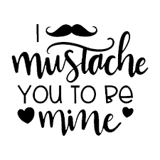 15 12 3cm I Mustache You To Be Mine Vinyl Decal Car Accessories For Home Cars Walls Cups Bumper Stickers Car Stickers Aliexpress