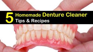 5 denture cleaner recipes you can make