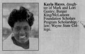 Kayla Hayes, daughter of Mark and Lori Hayes Gentry - Newspapers.com