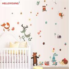 Removable Small Animals Bird Owl Wall Stickers Bedroom Wall Stickers For Kids Rooms Baby Room Decor Wall Decals Stickers For Walls Decoration Stickers For Walls In Bedrooms From Gujiayuan05 8 83 Dhgate Com