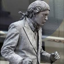 hire a living statue london human