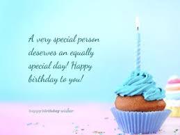 birthday wishes for someone special happy birthday wisher