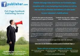 publish full page s brochures on