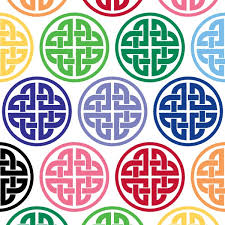 Celtic Knotwork Circle Vinyl Decal Seward Street Studios
