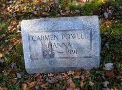 Carmen Iva Powell Hanna (1903-1991) - Find A Grave Memorial