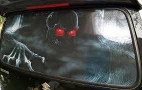 Creative 3d Halloween Car Rear Window Sticker Auto Modification Decal Cartoon Film Transparent Star Car Sticker For All Sedans Star Car Sticker Car Stickerrear Window Stickers Aliexpress