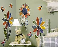 Large Flowers Butterfly Lady Bug Murals Wall Decor Art Stickers Decal Wall Mural For Sale Online