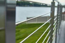 China Security Commercial Stainless Steel Fence With Cable Railing For Balcony Deck Staircase China Cable Railing Cable Fence