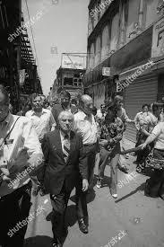New York Mayor Abraham Beame center walks Editorial Stock Photo - Stock  Image | Shutterstock